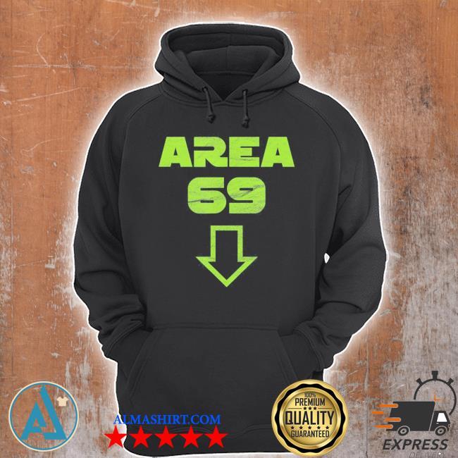 Area 69 funny meme futuristic style s Unisex Hoodie
