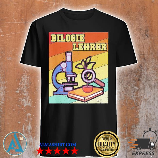 Biologiehrer educator professional school teacher referender's new 2021 shirt
