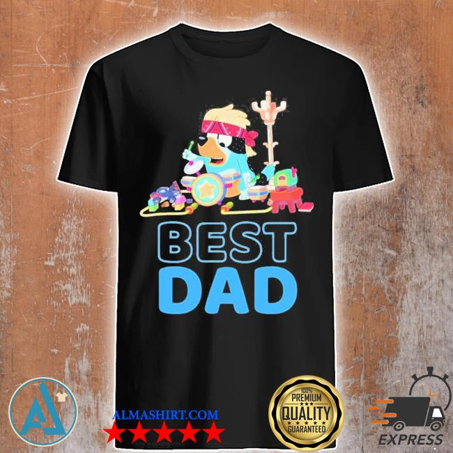Bluey dad best matching family limited shirt