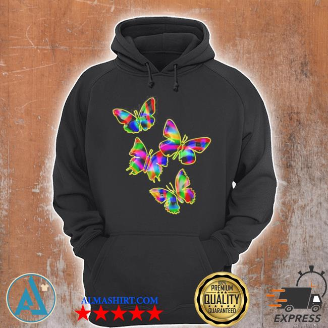 Colorful butterflies 2021 new 2021 s Unisex Hoodie