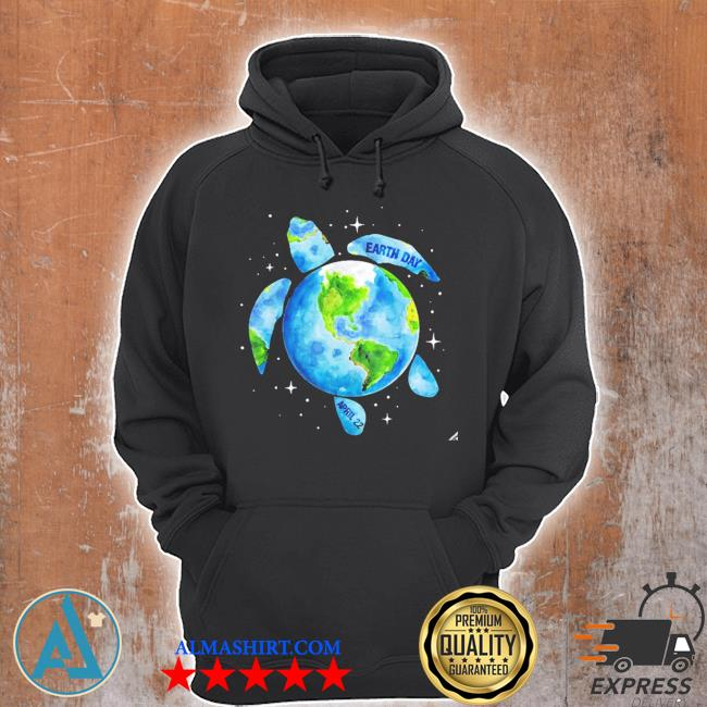 Earth day 2021 restore earth sea turtle art save the planet new 2021 s Unisex Hoodie
