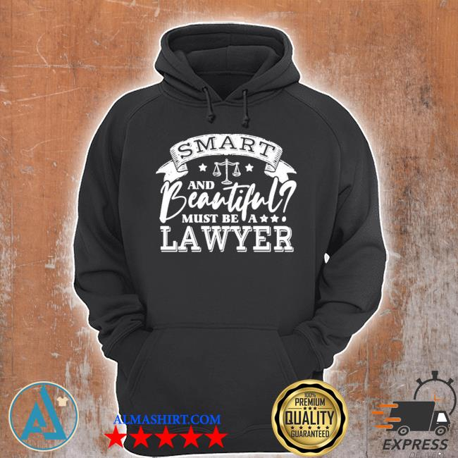 Funny beautiful lawyer law school attorney new 2021 s Unisex Hoodie