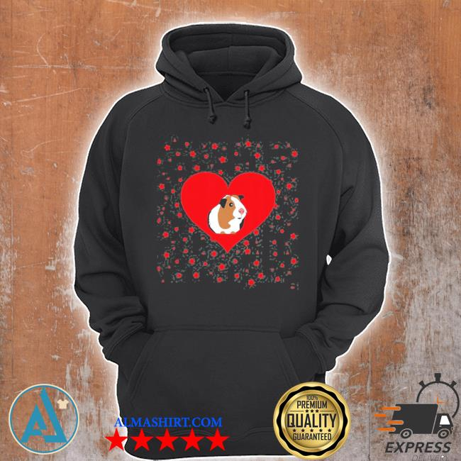 Guinea pig valentine's day funny Guinea pig s Unisex Hoodie