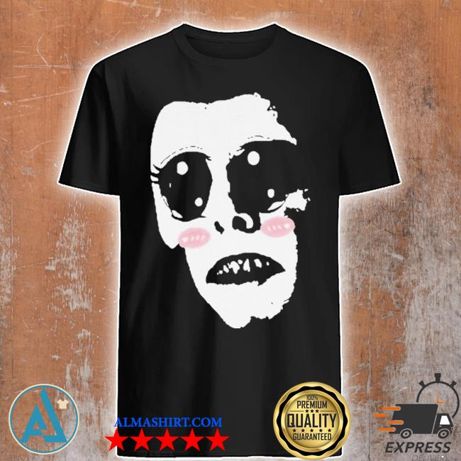 KawaiI nosferatu cute funny goofy vampire black clothes demonic anime shirt