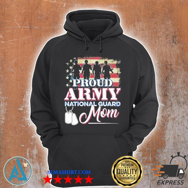 National guard mom proud army national guard new 2021 s Unisex Hoodie