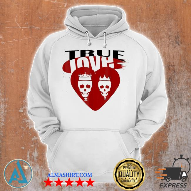 skullcap True love s Unisex Hoodie