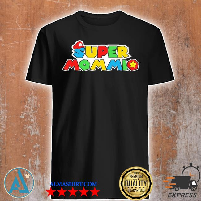 Super mommio video game lover mothers day new 2021 shirt