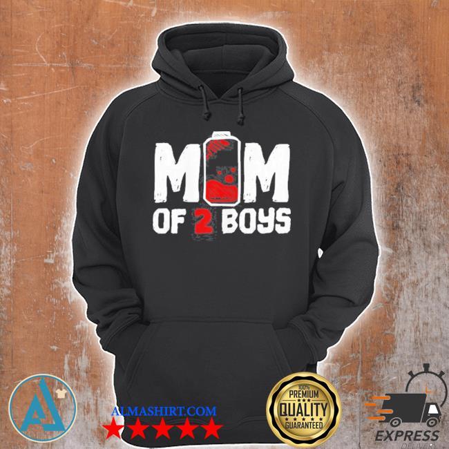 Mom of 2 boys s Unisex Hoodie