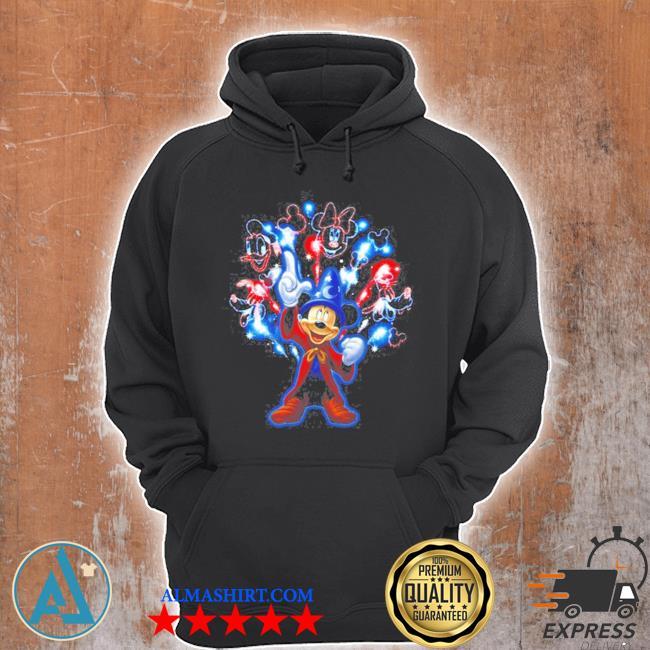 Mickey firework s Unisex Hoodie