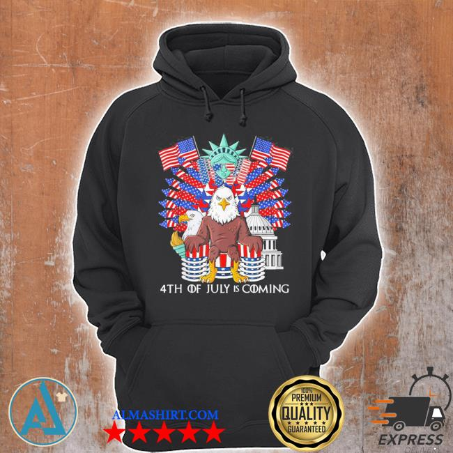 Bald eagle throne 4th of july usa patriotic new 2021 s Unisex Hoodie