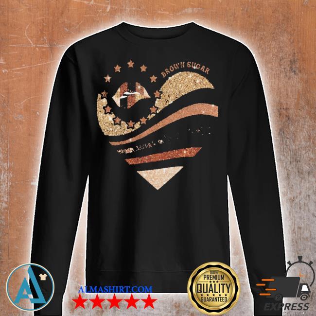 Brown sugar heart diamond s Unisex sweatshirt