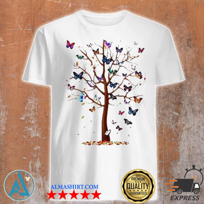 Butterfly tree beautiful shirt