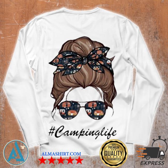 Camping life girl s Unisex longsleeve