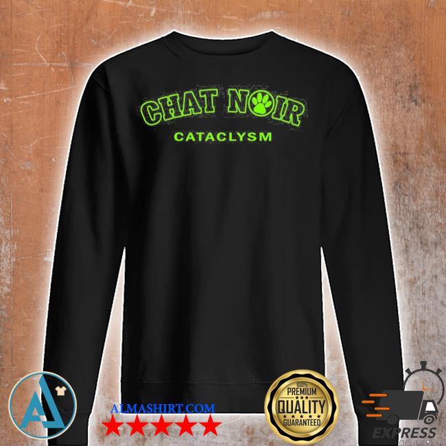 Chat noir cat green version miraculous marI chat adrienette marinette ladybug cataclysm chat noir cat noir s Unisex sweatshirt