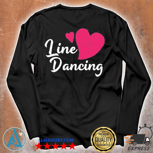 Cowboy line dancing rodeo line dance s Unisex longsleeve