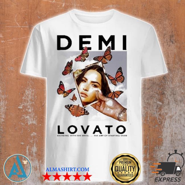DemI lovato photo butterflies shirt