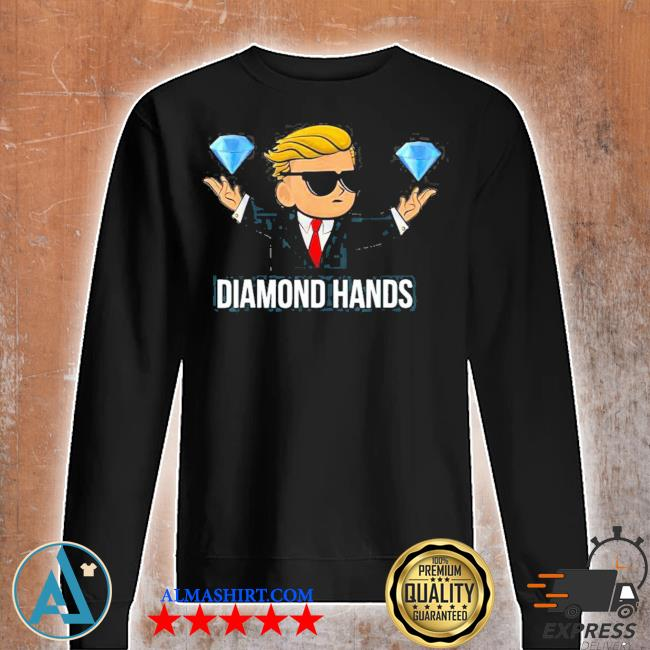 Diamond hands wallstreetbets tendies essential new 2021 s Unisex sweatshirt