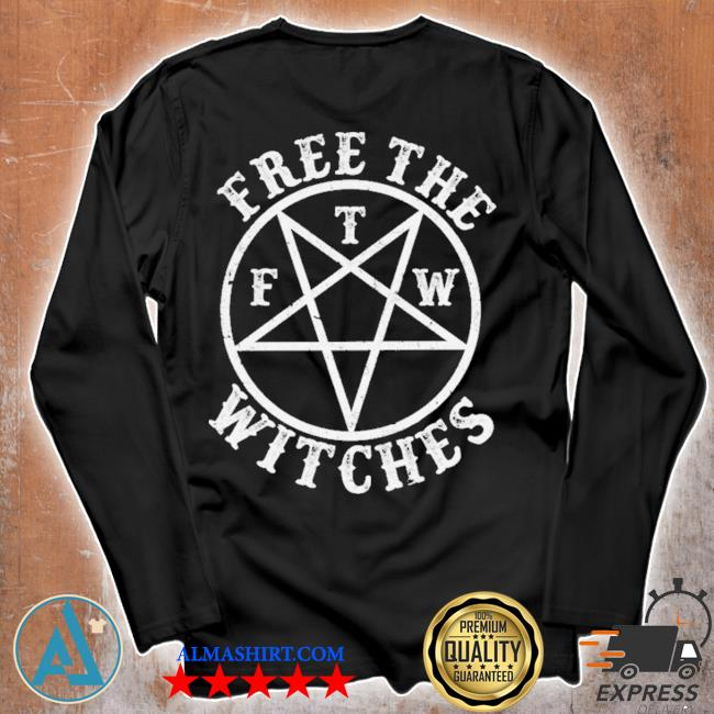 Free the f t m witches s Unisex longsleeve
