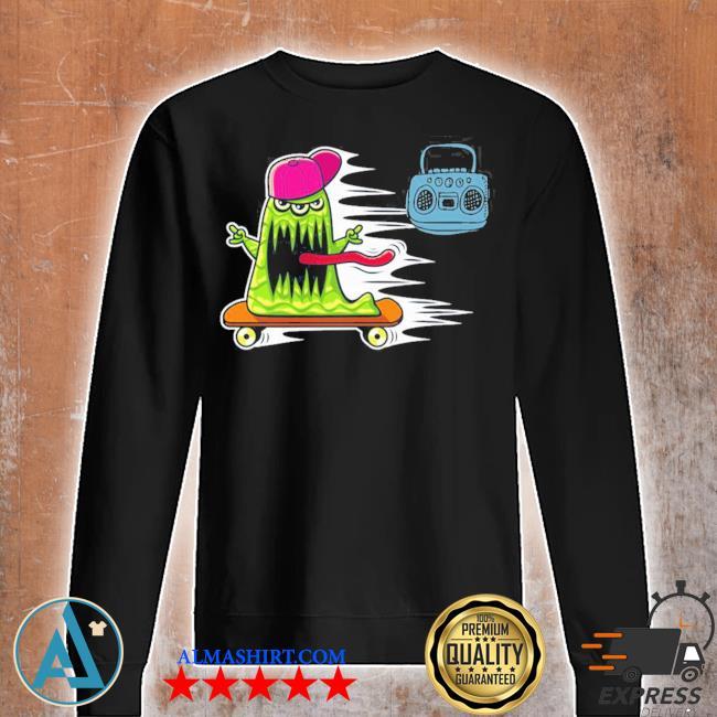 GraffitI monster skateboarding monster radio jamming new 2021 s Unisex sweatshirt