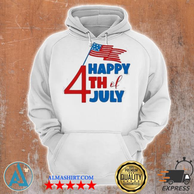 Happy 4th of july American flag s Unisex Hoodie