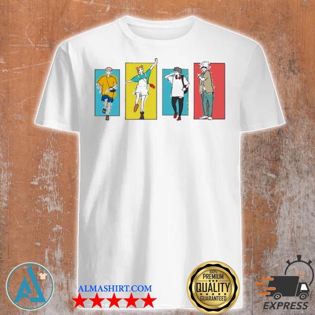 Jujutsu kaisen friends shirt