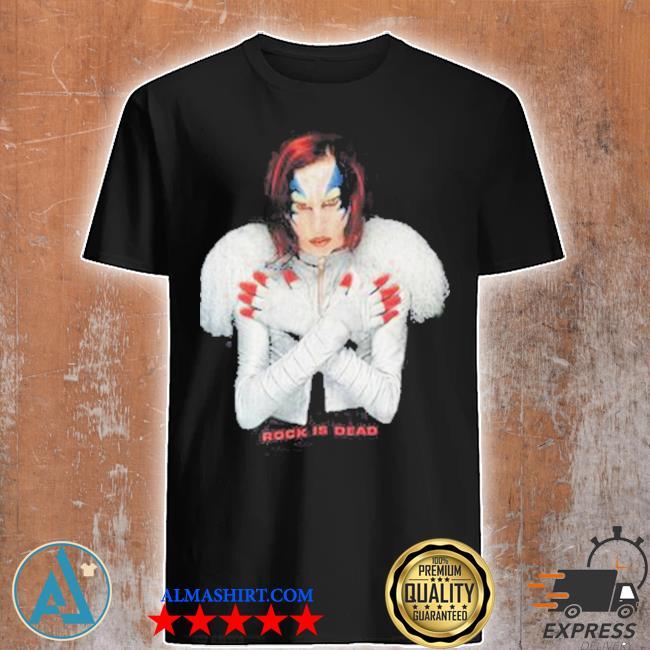 Marilyn manson rock is dead shirt