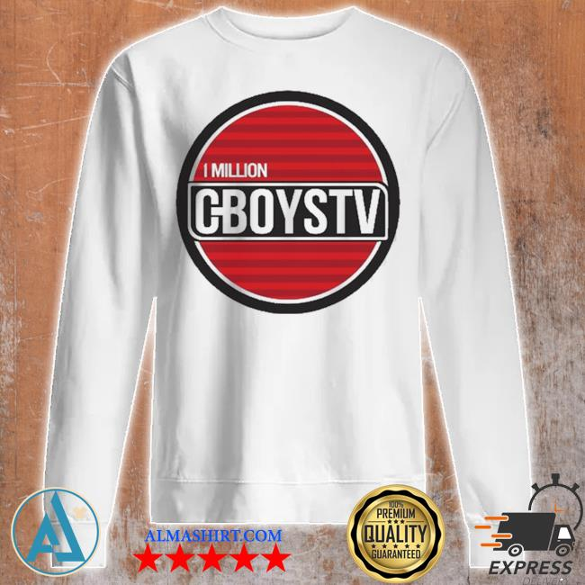 Million cboystv life wide new 2021 s Unisex sweatshirt