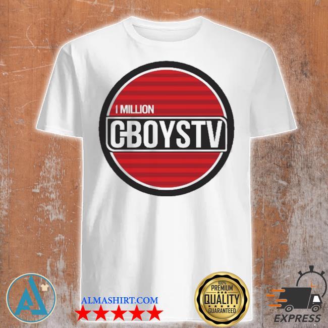 Million cboystv life wide new 2021 shirt