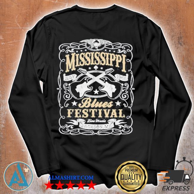 MississippI rock whiskey concert music festival guitar s Unisex longsleeve