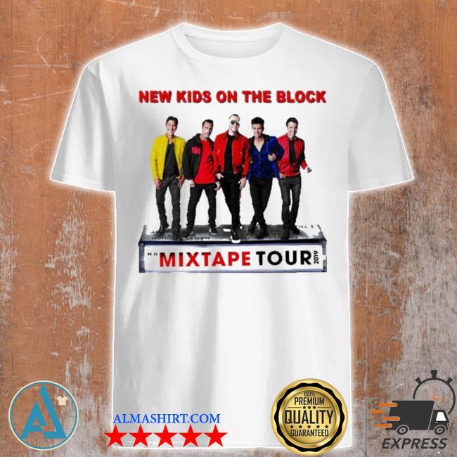 New kid on the block the mixtape tour 2019 shirt