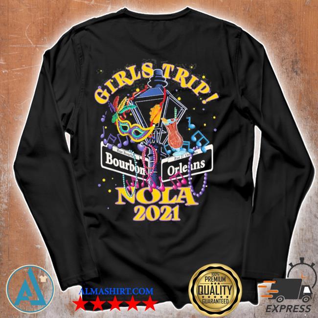 Nola girls trip 2021 new orleans bachelorette party new 2021 s Unisex longsleeve