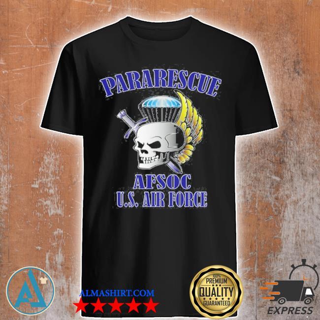 Pararescue front design shirt