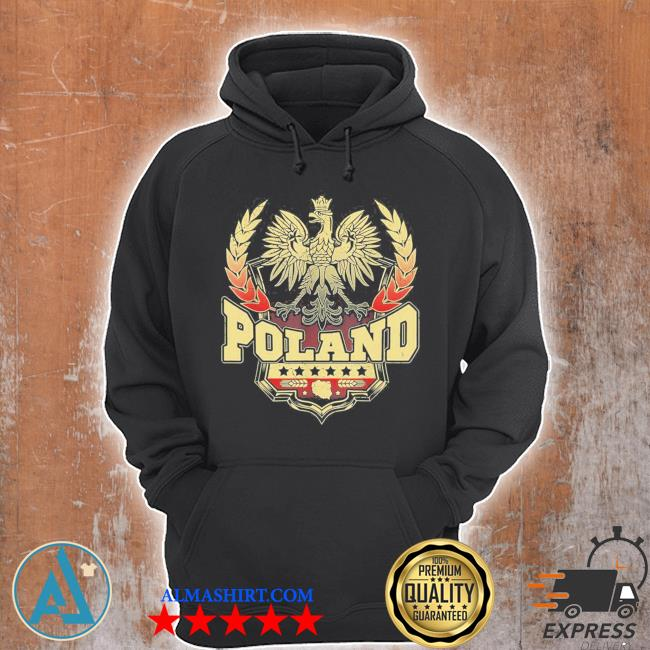 Polish pride eagle Poland dyngus day parade roots farm new 2021 s Unisex Hoodie