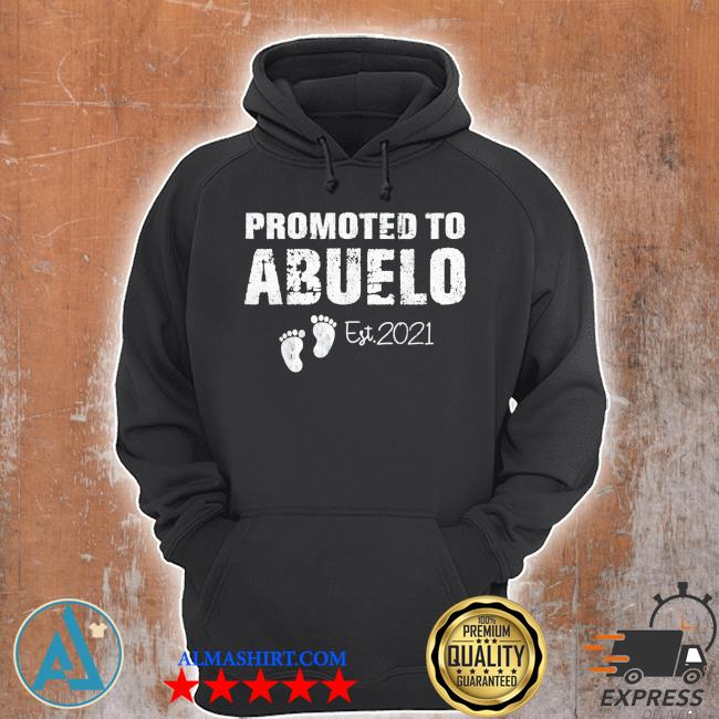 Promoted to abuelo est 2021 fathers day classic s Unisex Hoodie