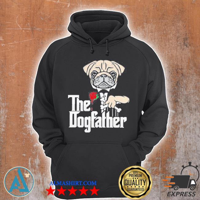 Pug dog the dogfather s Unisex Hoodie