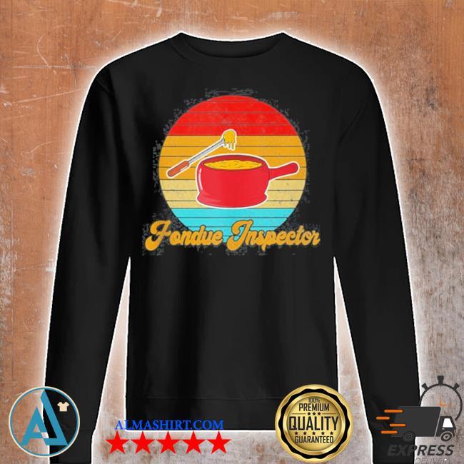 Retro fondue inspector s Unisex sweatshirt
