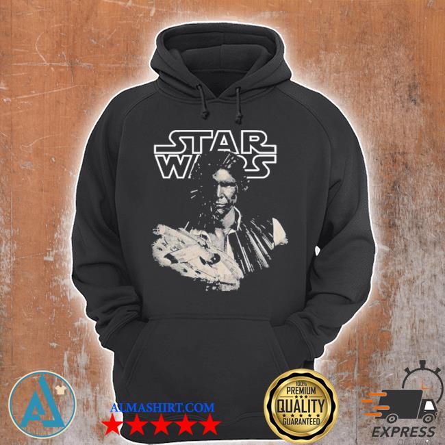 Star wars han solo millennium falcon portrait s Unisex Hoodie