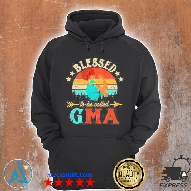 Strong woman blessed to be called gma vintage s Unisex Hoodie