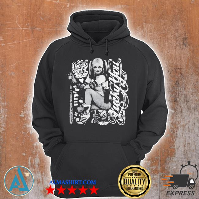 Suicide squad harley quinn lucky s Unisex Hoodie