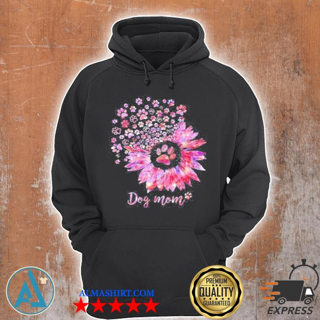 Sunflower dog mom s Unisex Hoodie