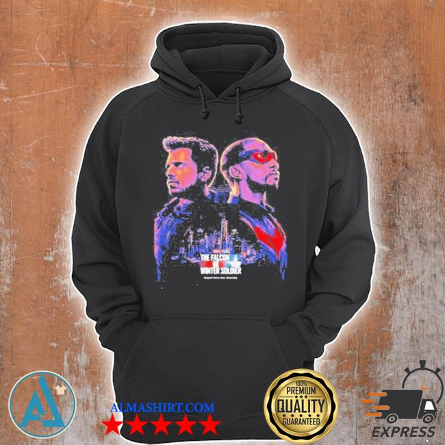 The falcon and the winter soldier captain America Marvel studios s Unisex Hoodie