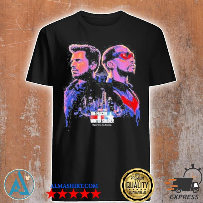 The falcon and the winter soldier captain America Marvel studios shirt