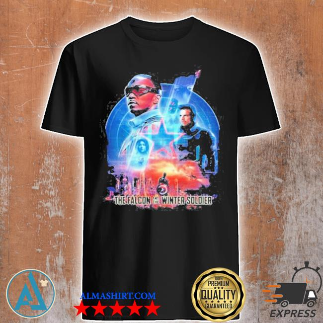 The falcon and the winter soldier captain America shirt