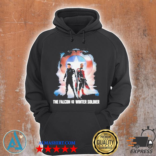 The falcon and the winter soldier captain American Marvel s Unisex Hoodie