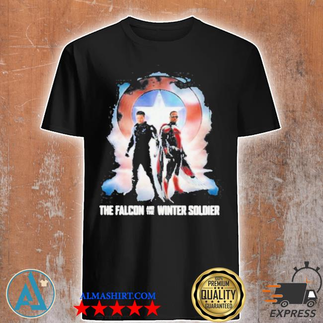 The falcon and the winter soldier captain American Marvel shirt