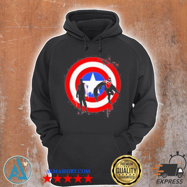 The falcon and the winter soldier logo captain America s Unisex Hoodie