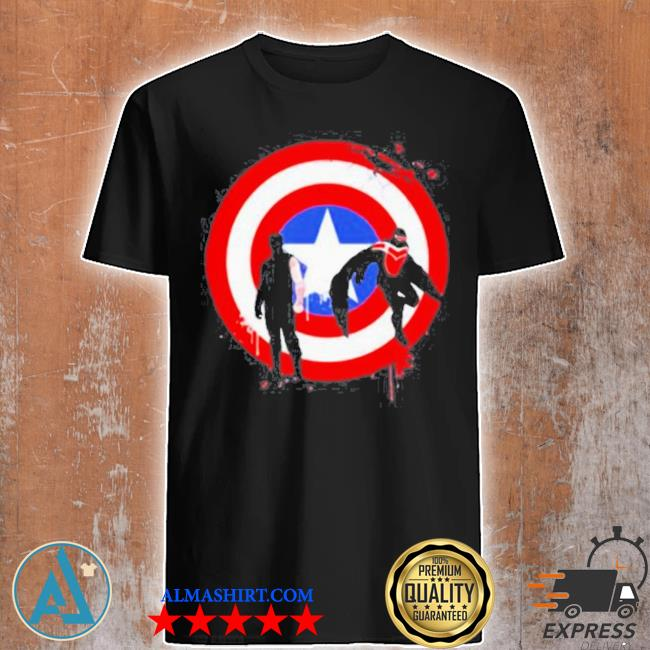 The falcon and the winter soldier logo captain America shirt