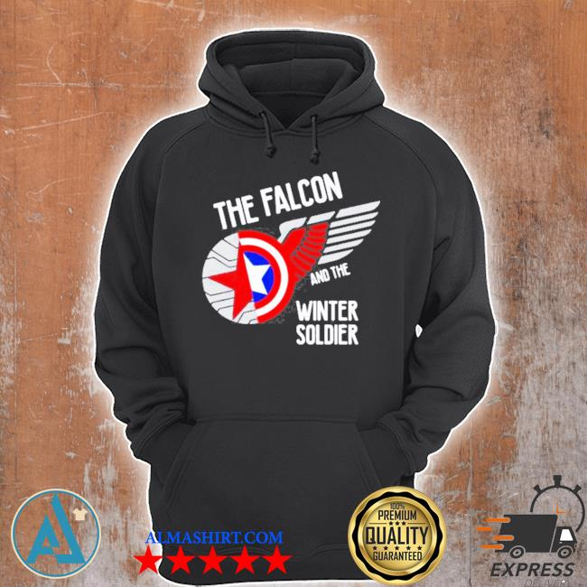 The falcon and the winter soldier logo s Unisex Hoodie