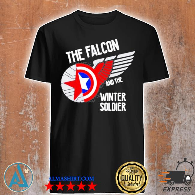 The falcon and the winter soldier logo shirt