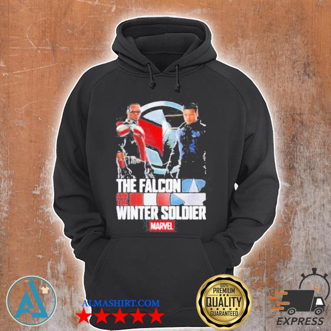 The falcon and the winter soldier Marvel captain America s Unisex Hoodie